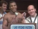 Rare Mike Tyson Post Fight Interview