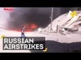Russia Airstrikes Hit Syria For The First Time