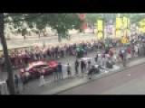 Rare Crash Footage From Tour De France