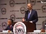 Racist Eric Holder Plays Race Card: What AG & POTUS Have Ever Been Treated This Way