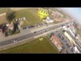 RC Plane Crashes Into Brand New Hot Air Balloon 'Supra Bazar' Onboard Footage