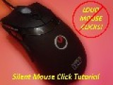 Ridiculously Easy DIY Silent Mouse Clicks Tutorial No Soldering Needed!
