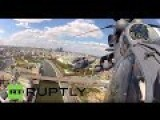 Russian Air Used In Syria Campaign Take Part In Red Square Flypast