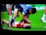 Rugby Player Ben Flower Sent Off After Punching Opponent's Face