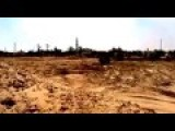 RAW FOOTAGE -- A Mosque Attacked By Israel Airstrike | Israel Palestine Conflict 2014