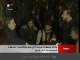 Rebels From The Yarmouk Refugee Camp Surrendered With Their Weapons