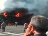 Raw Footage: Plane Crash Kills 39 In Iran
