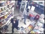 Robbers In Brussels Get Muscled Out The Door After Attacking Shopkeeper