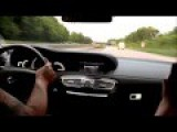 RIDE Crazy Mercedes CL 6 3 AMG 260 Km H On German Autobahn LOUD Sound