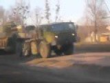 Russian Convoy Of Heavy Military Equipment Near Donetsk, 9th Nov