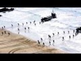 Royal Marines Storm The Beach