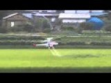 RC Helicopter The Most Effective Pesticides Sprayer For Rice Plants