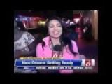 Reporter Jessica Sanchez Owns Drunk Videobomber