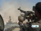Rush Footage Syrian Govt. Forces Advance Inside Militant-held Aleppo