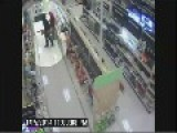 RAW SURVEILLANCE VIDEO: Skateboard Getaway After Stealing Television From Clearwater Target