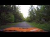 Rally Car Dashcam Falls Out In Crash, Gets Epic Shot