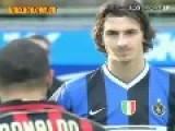 RONALDO AND IBRAHIMOVIC - 2007