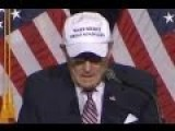 Rudy Giuliani's Embarrassing New Hat: 'Make Mexico Great Again Also'
