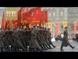 Russia Holds Parade On Day Of October Revolution