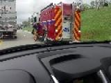 Roadside Car Fire
