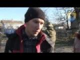 Regiment Azov : Evacuation Of Civilians From Village Shirokino