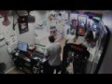 Robbers Get Locked In Cellphone Store, Crowd Watches And Laughs