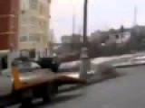 Rusian Drivers Fight With BaseBall Bats