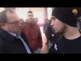 Russian Activists Vs. Illegal Smokers Part 3 Where Some Of Them Get Beat Up