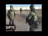 Russian Rebel In Ukraine Gets Shot While Testing New Body Armor