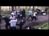Ruthless Soccer Hooligans Face Off In Massive Rumble