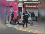 Robbery In Paris With A Grinder