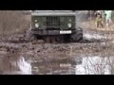Russian Trucks In Siberia