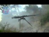 Recoilless Rifle Shots Against SAA Positions In Latakkian Mountains