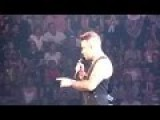 Robbie Williams Flirts With Girl In Audience Before Being Told She's Only 15