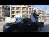 Rebels Use AA Guns Against Ancient Regime Terrorjet