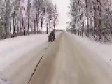 Russian Practice 'violent Sled'