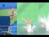 Russian Diver Awkwardly Scores Zero At Rio Olympics