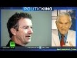 Ron Paul With Larry King: Talks About Obama's So Called Freedom Act