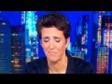 Rachel Maddow Almost Cries Over FBI Investigating Hillary Again