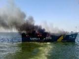 Rebels DPR Destroyed In Azov Sea 2 Ukrainian Border Boats