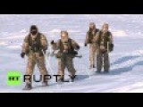 Russia: Airborne Troops Perform Drills In Extreme Arctic Conditions