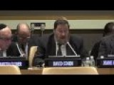 Rabbi Yakov David Cohen On Universal Noahide Code In UN
