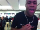 RAPPER Is PISSED At APPLE STORE MANAGER For Interrupting His MUSIC VIDEO = Threatens To Kill Himself =