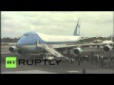 Raul Castro Sends Off Barrack Obama