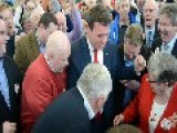 Red-Faced Kelly's Fist-Pumping Reveals Ecstasy At Being Re-Elected
