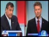 Rand Paul Vs Chris Christie At GOP Debate
