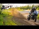 Riding A Suzuki GSX-R On Dirt Roads
