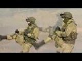 Russian Army In Action During Intense Combat Training In Russia