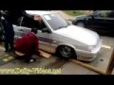 Russian Lowrider Fail