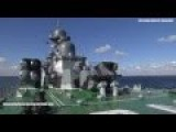 Russian Cruise Missile Ship Firing FAST FIRING Rocket - Code 338
